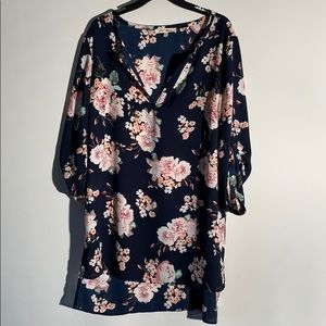 Wishful Park Purple Flower Shirt